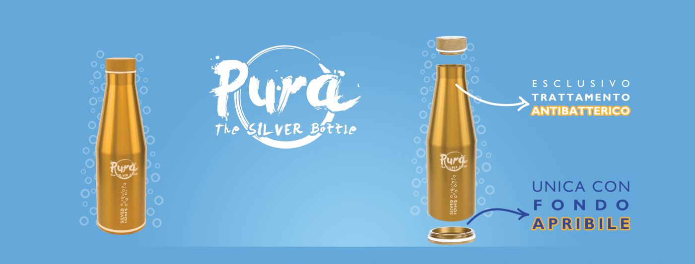 Pura Silver Bottle by GHA